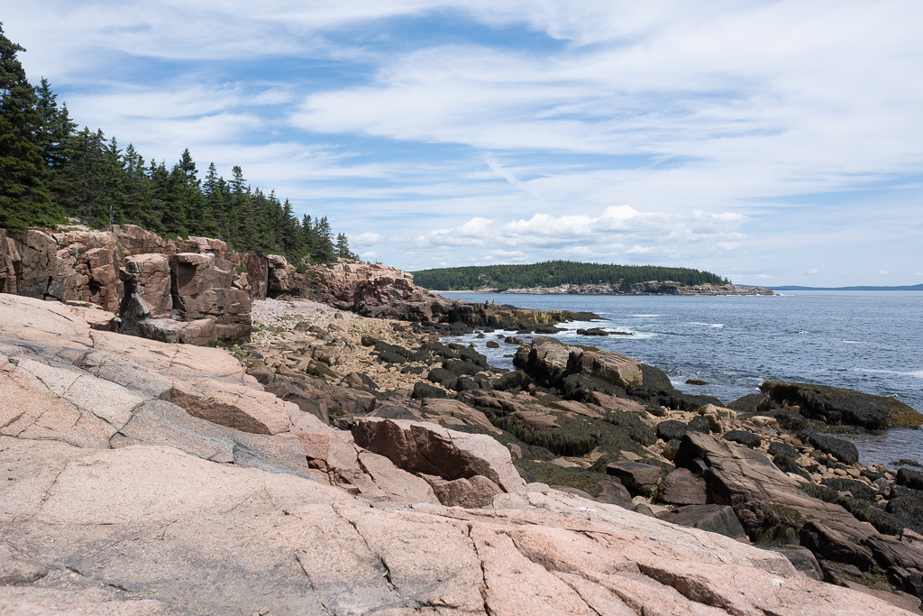 Acadia National Park from Otter point